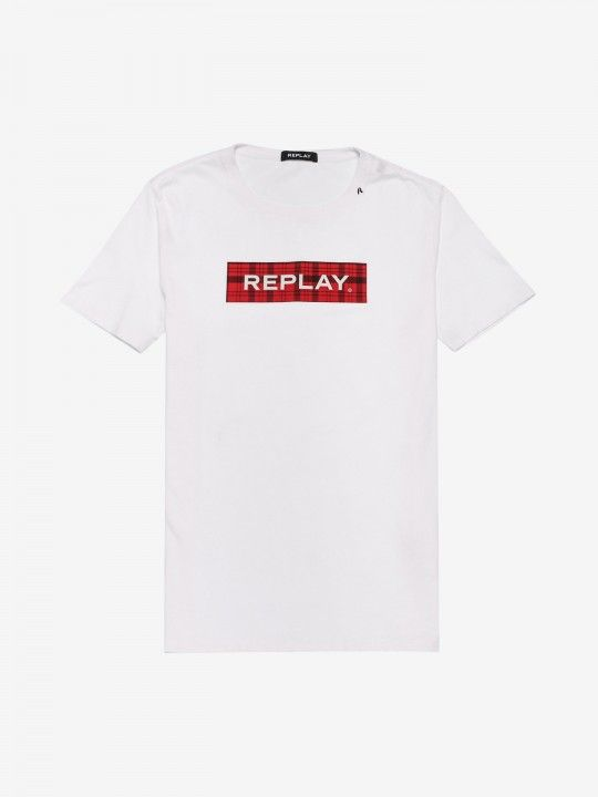 Replay Checked Detail T-Shirt