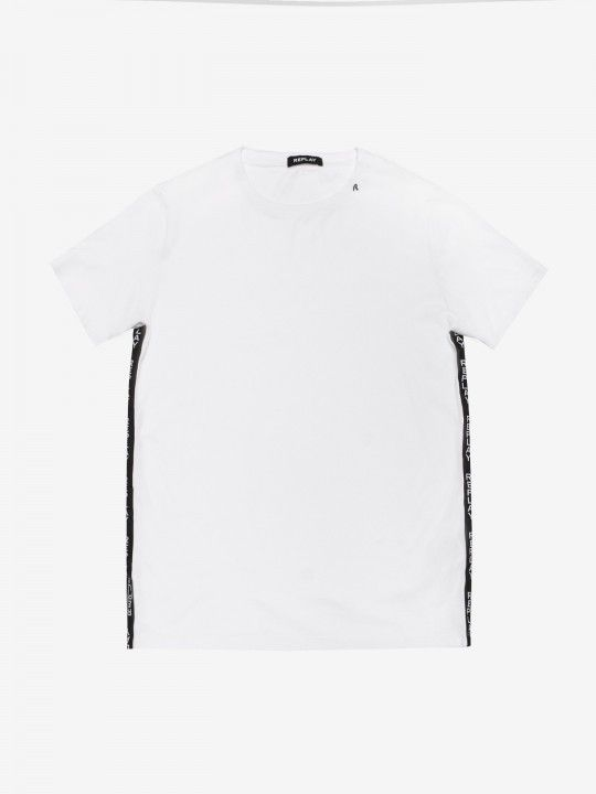 Replay Side Stripe T-Shirt