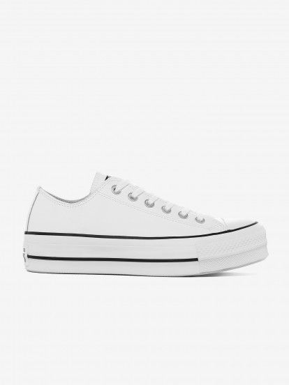 Converse All Star Chuck Taylor Lift Low Clean Sneakers