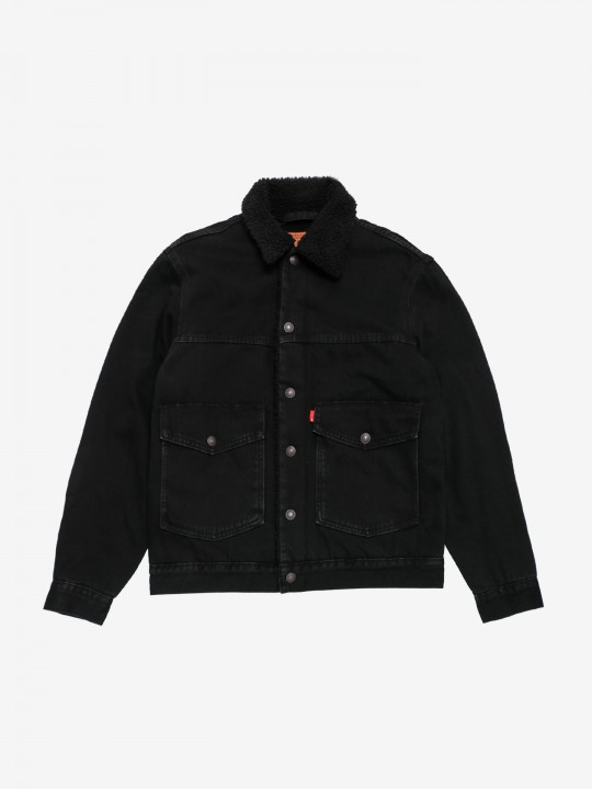 Casaco Levis Patched Sherpa Trucker