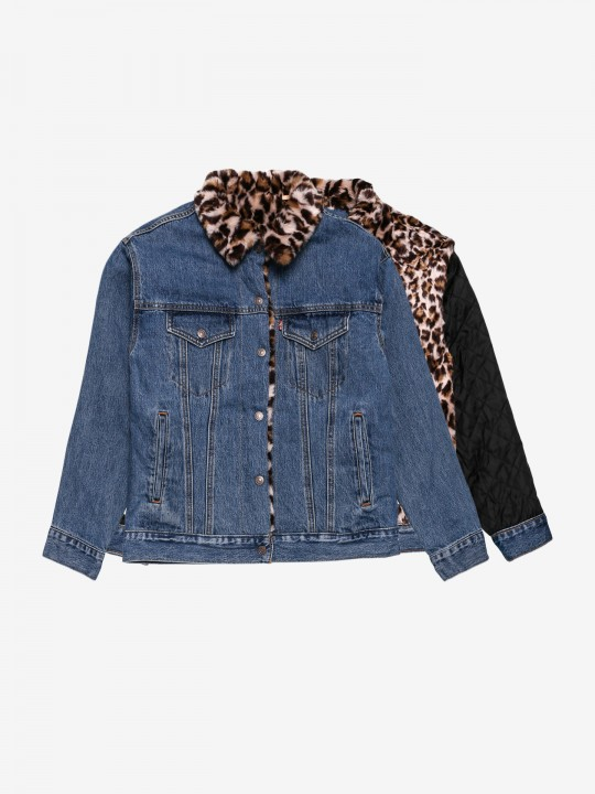Levis Dad Reversible Trucker Jacket
