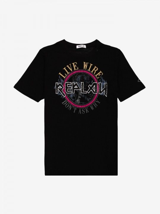Replay Live Wire T-Shirt