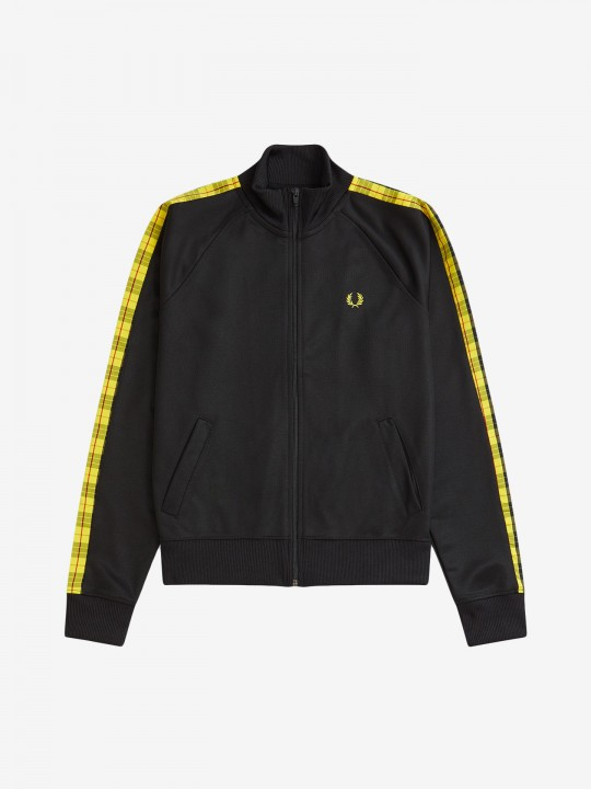 Chaqueta Fred Perry Taped Track Tartan