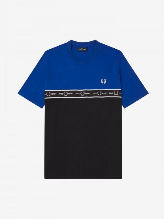 Fred Perry Taped Chest T-Shirt