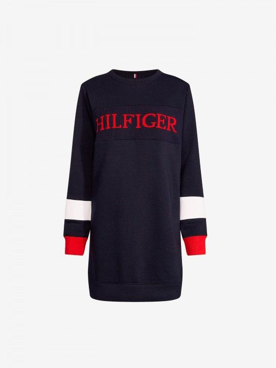 Vestido Tommy Hilfiger Colour-Blocked
