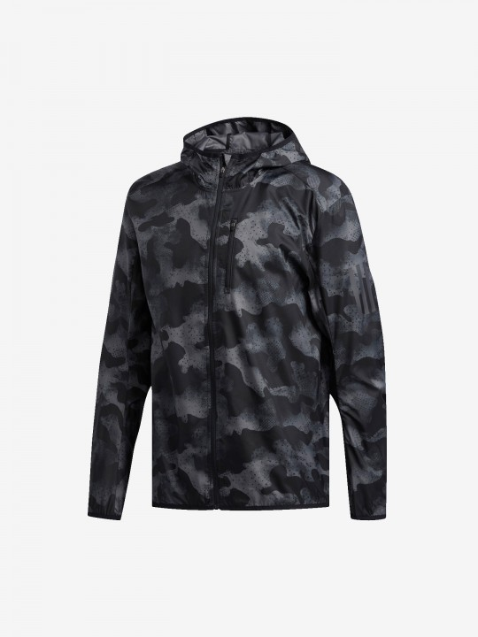 Adidas Own the Run Camouflage Jacket