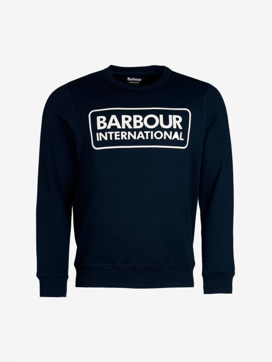 Barbour Intl Large Logo Sweater