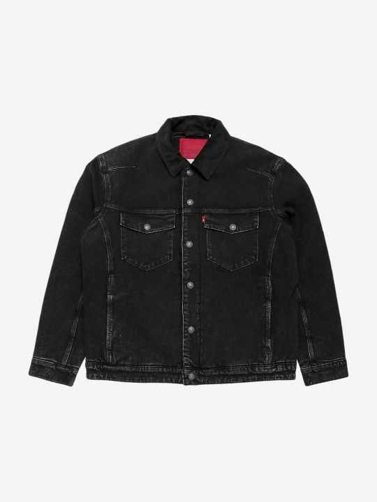 Levis Enginnered Jeans Sherpa Trucker Jacket