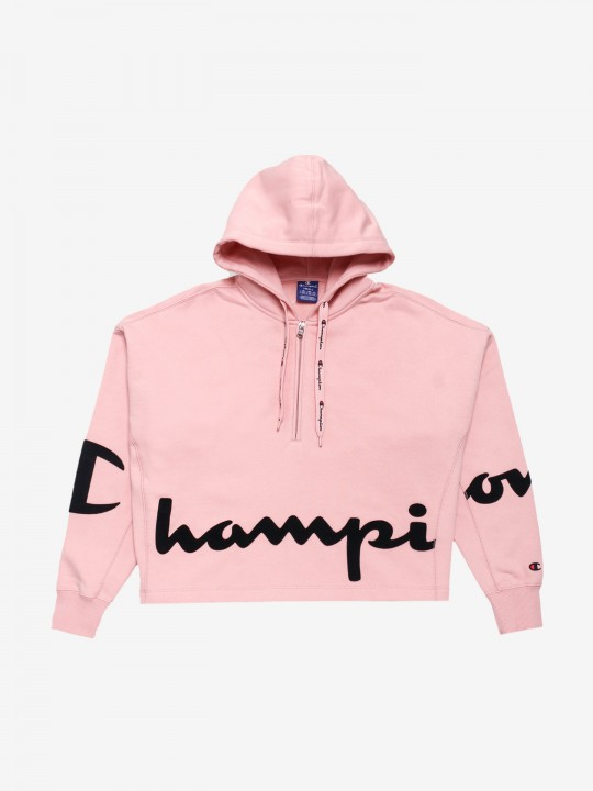 Camisola Champion Hooded Script Logo