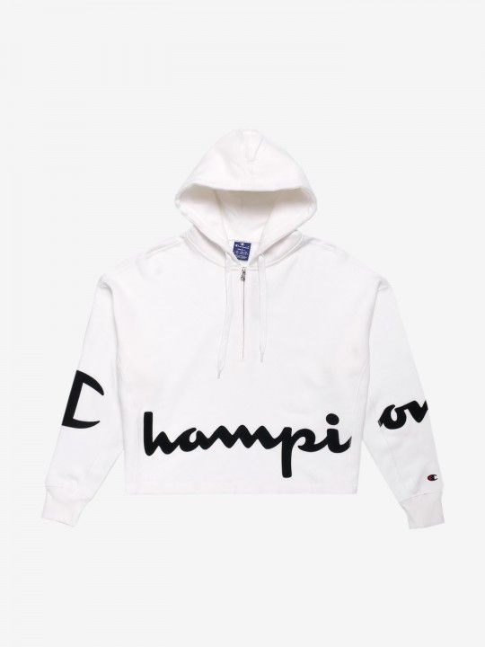 Sudadera Champion Hooded Script Logo