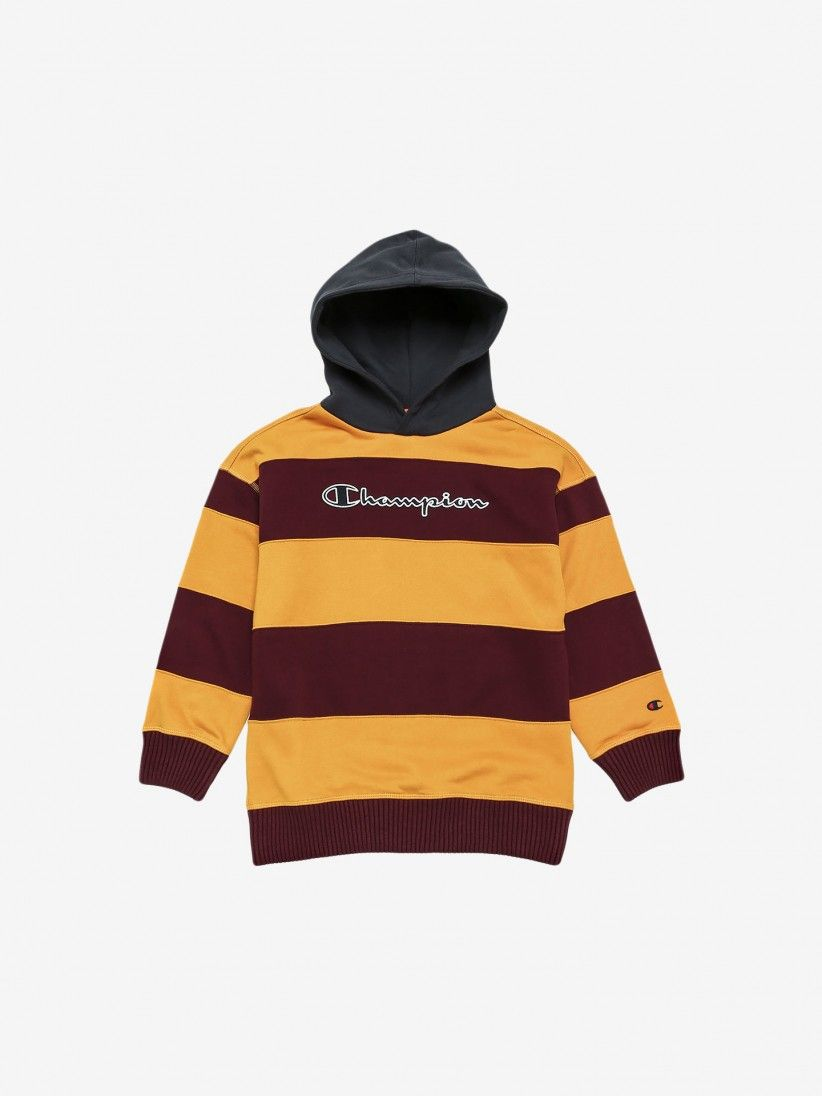 Camisola Champion Hooded Stripes