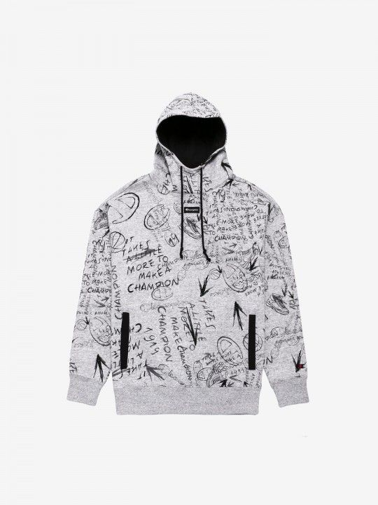 Sudadera Champion Hooded Pattern