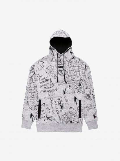 Champion Hooded Pattern Sweater