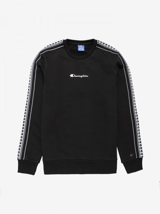 Champion Taped Sleeve Crewneck Sweater