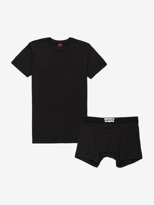 Kit T-Shirt Boxers Levis Starter Pack GiftBox