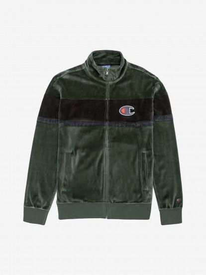 Chaqueta Champion Velvet Colour Block