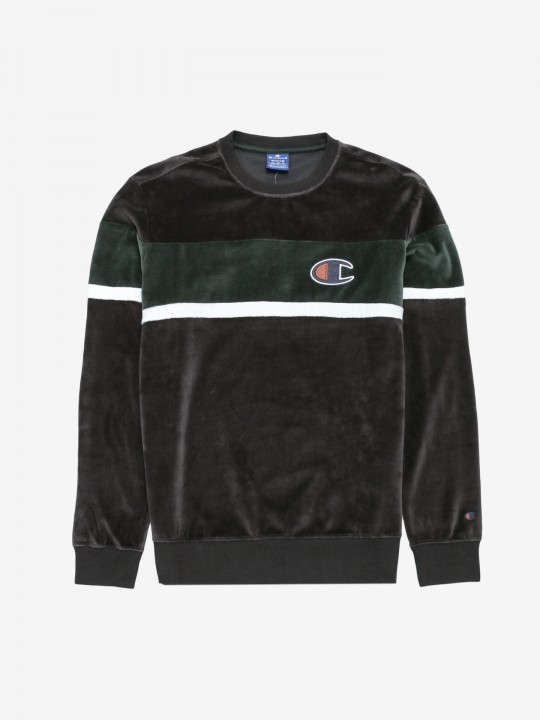 Champion Velvet Colour Block Sweater