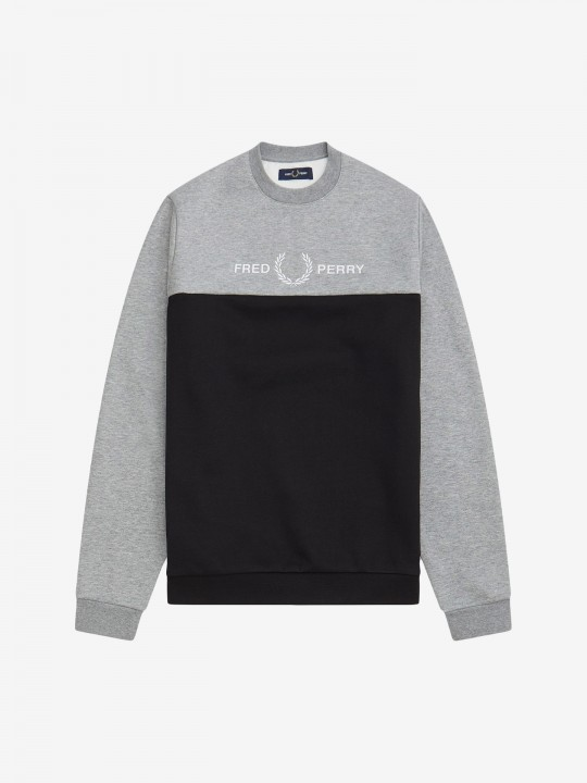 Sudadera Fred Perry Block Graphic