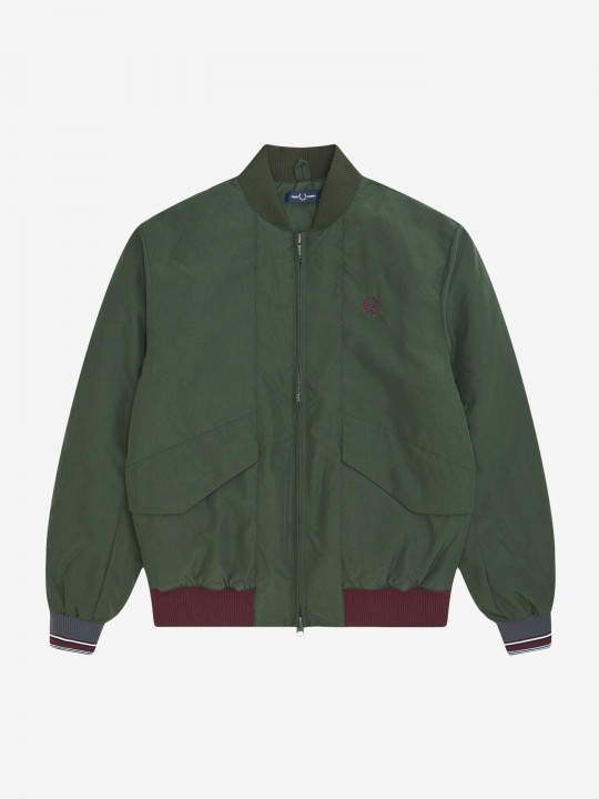 Casaco Fred Perry Quilted Bomber