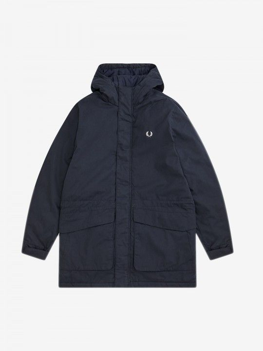 Fred Perry Padded Hooded Jacket