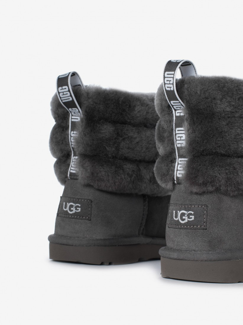 Botas Ugg Fluff Quilted Mini