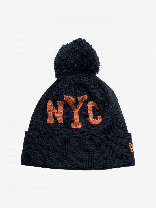 New Era New York City Bobble Beanie
