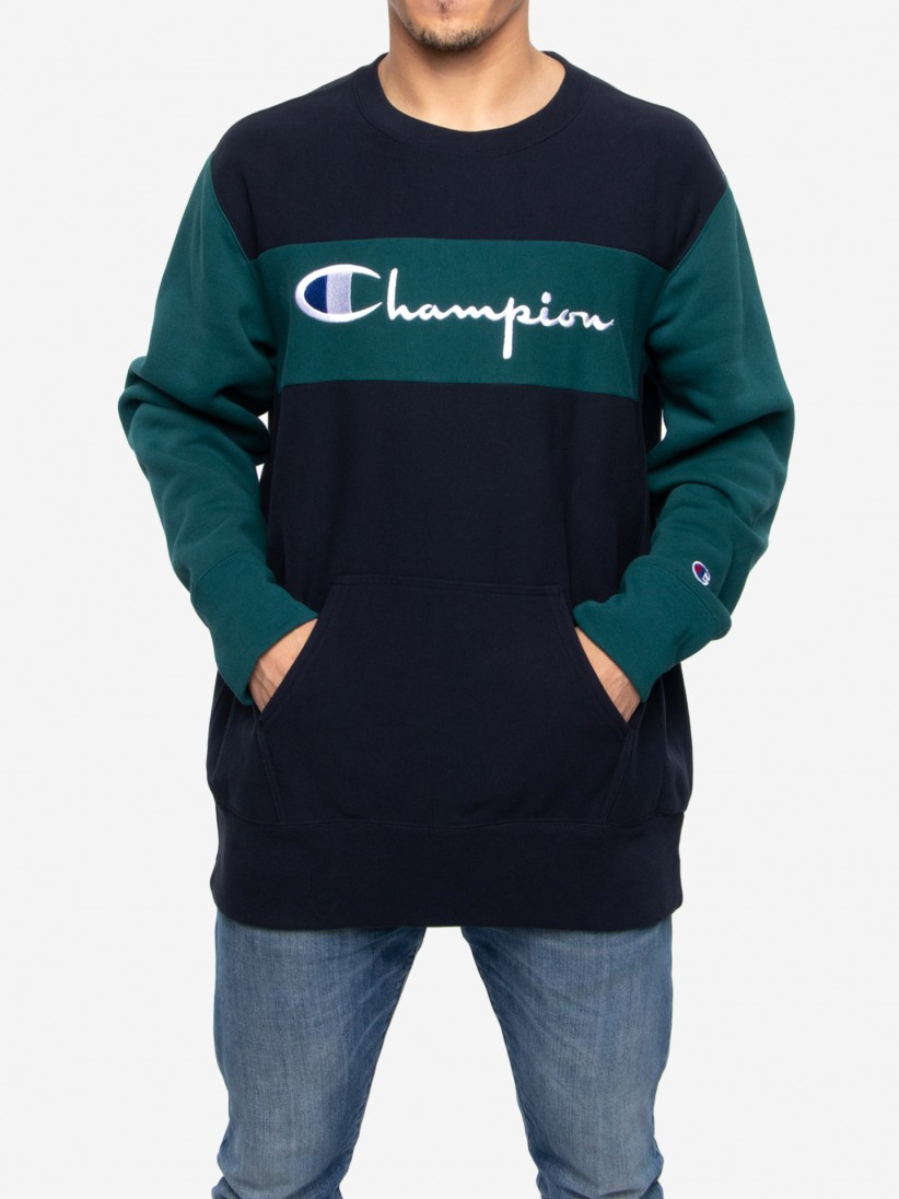 Sudadera Champion Contrasted Sleeves