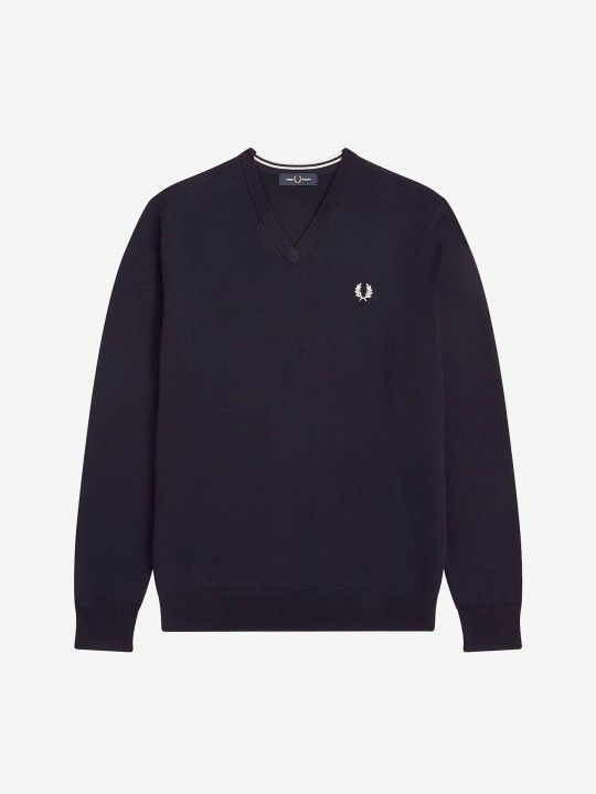 Fred Perry Merino V-Neck Sweater