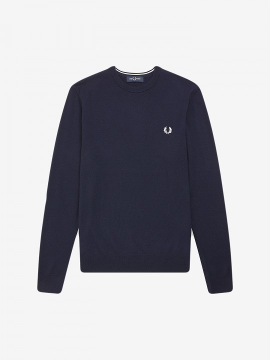 Fred Perry Merino Crew Neck Sweater