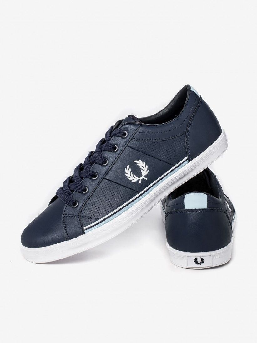 Fred Perry Baseline Leather Sneakers