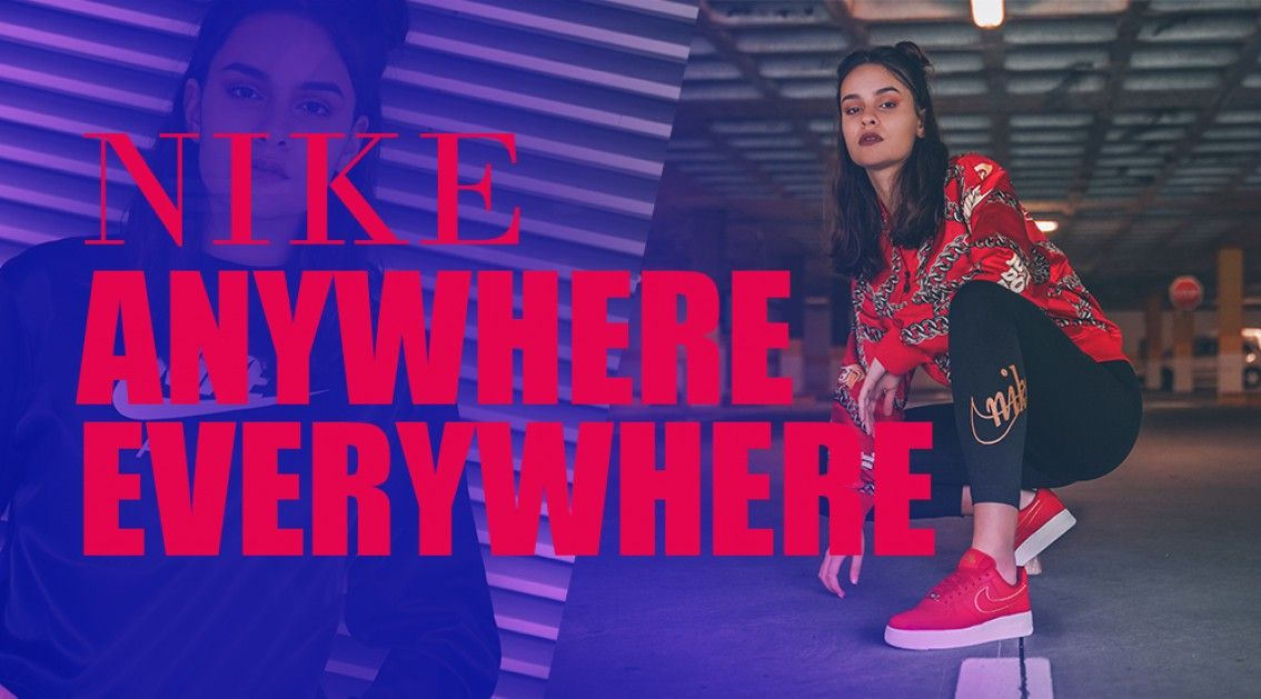 Nike Anywhere Everywhere