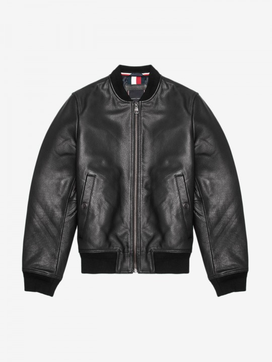 Casaco Tommy Hilfiger Leather Bomber