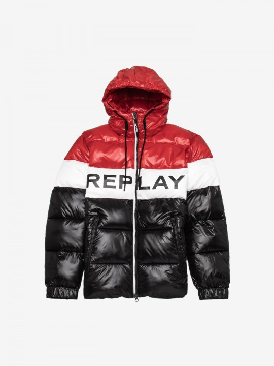Replay Tricolour Jacket