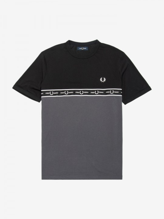T-Shirt Fred Perry Taped Chest