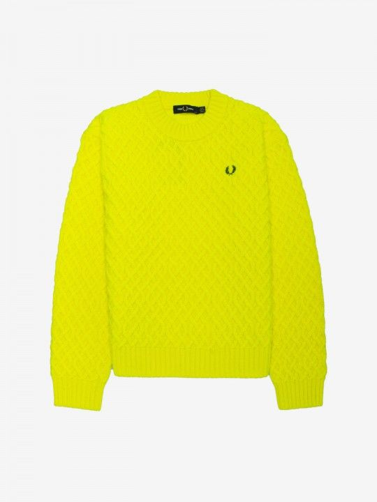 Fred Perry Textured Sweater