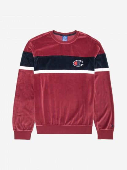 Sudadera Champion Velvet Colour Block