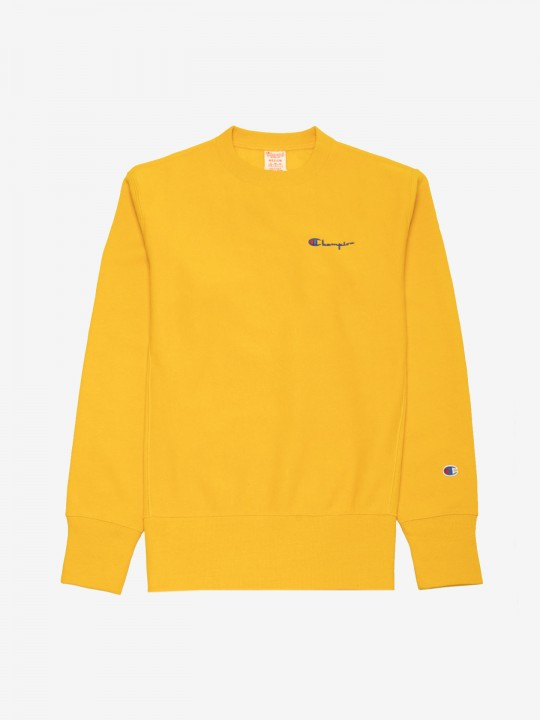Champion Script Logo Reverse Weave Sweater