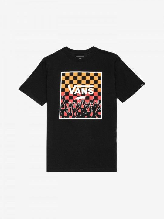 Vans Flame Check Gradient T-Shirt