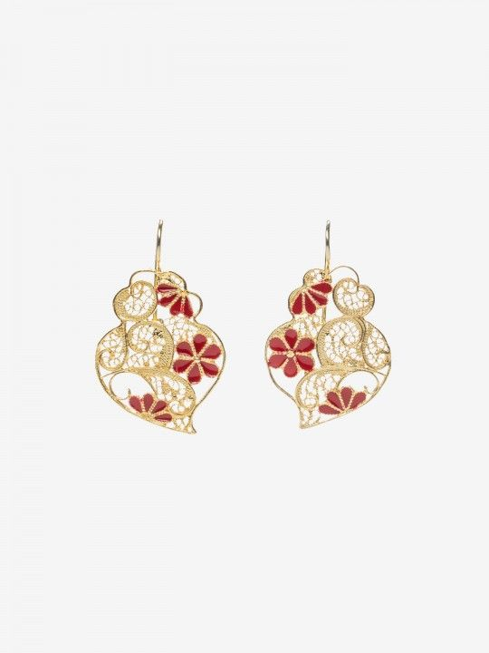 Bon Genie Filigree Earrings