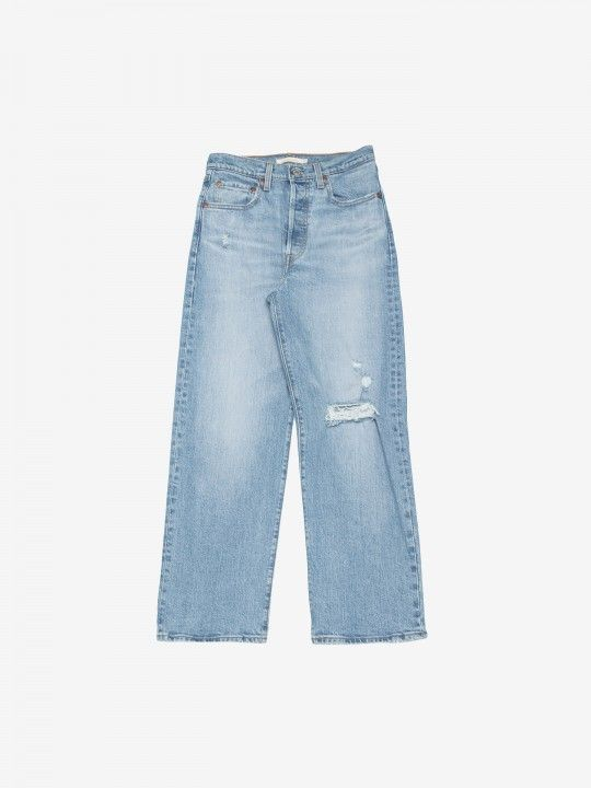 Levis Ribcage Straight Ankle Tango Fade Trousers