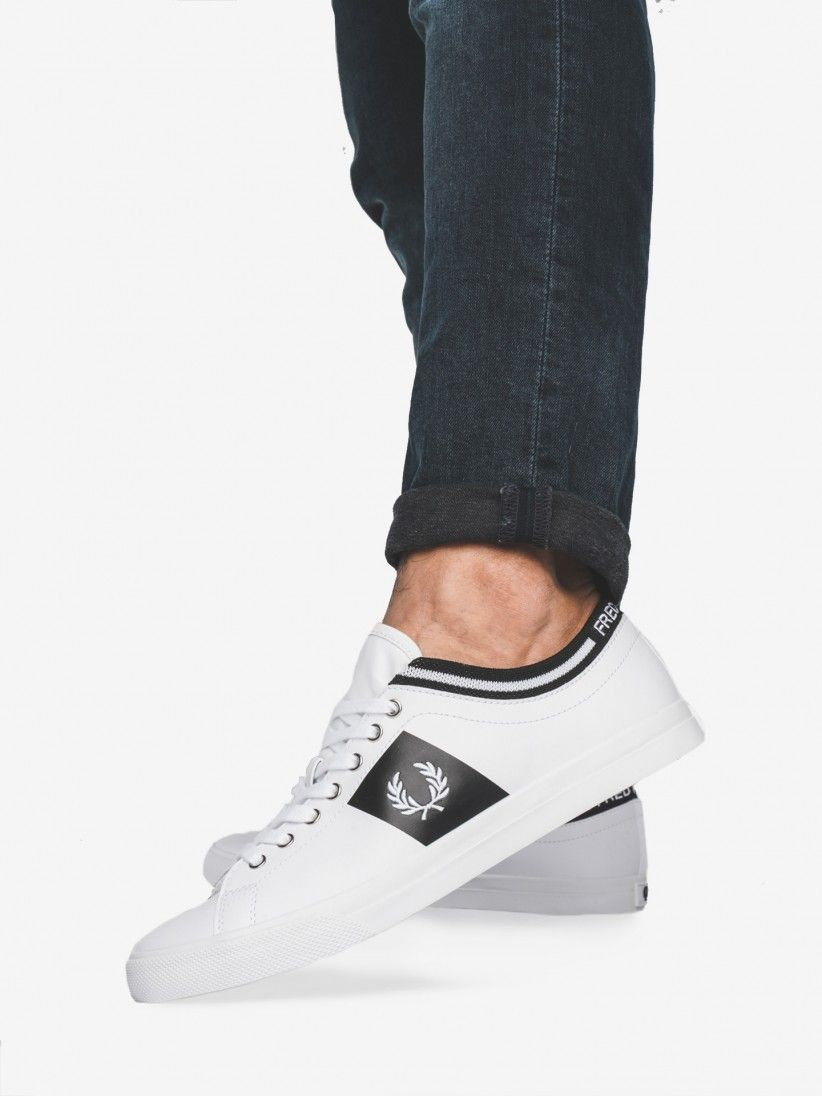 Fred Perry Underspin Cuff Sneakers