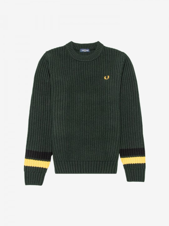 Camisola Fred Perry Bold Tipped Crew Neck