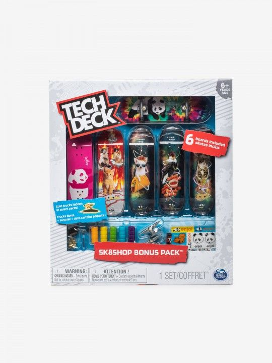 FINGERBOARDS 6 PACK TECH DECK