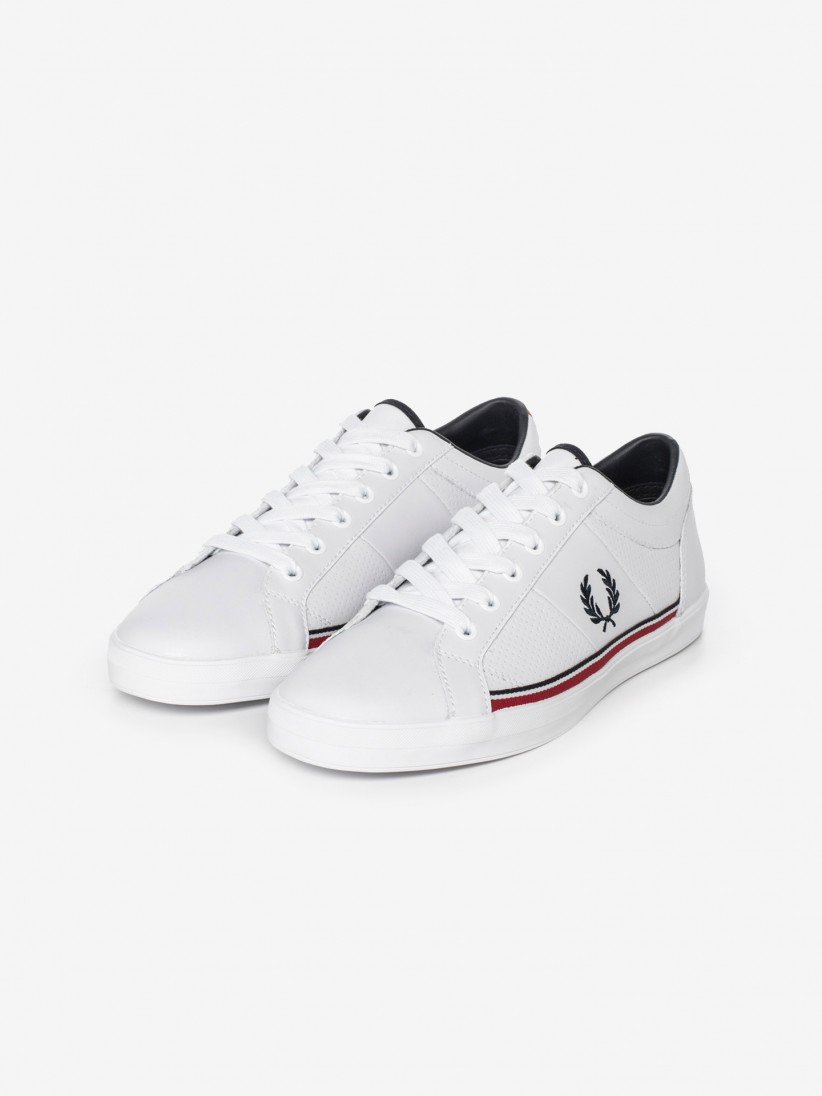 Sapatilhas Fred Perry Baseline Leather