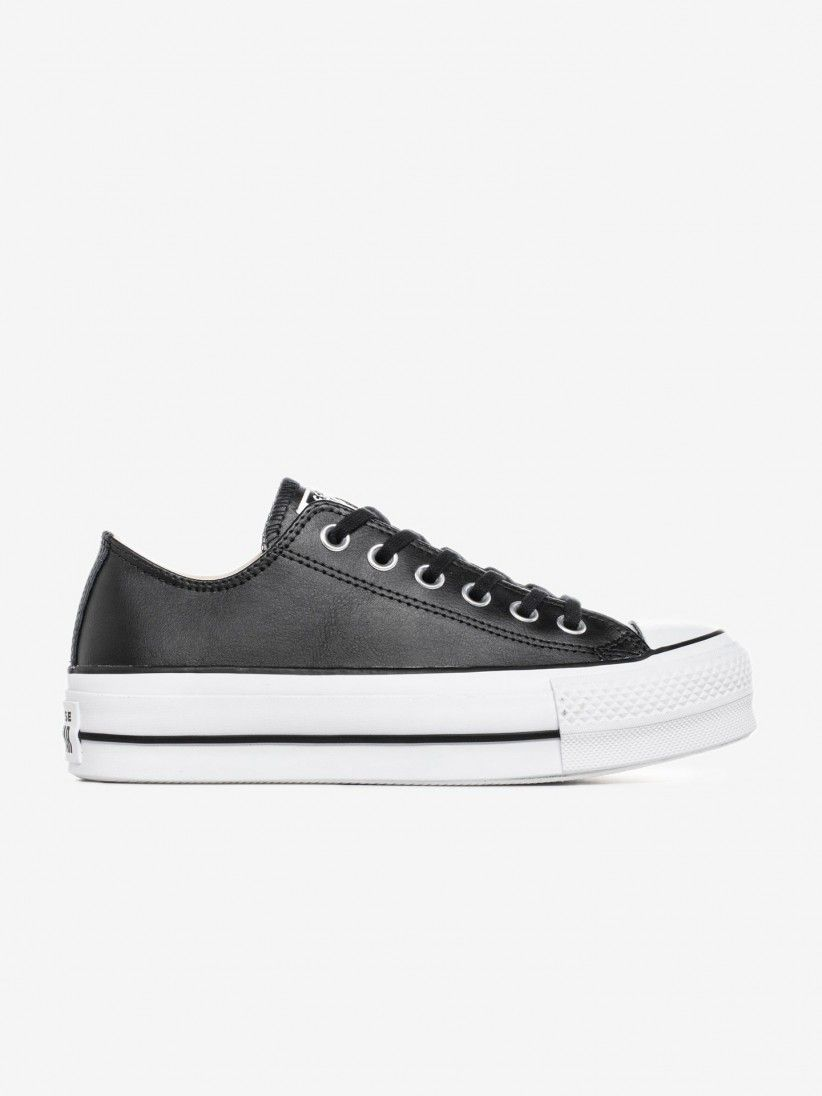 Star Chuck Taylor Lift Clean Sneakers | BZR
