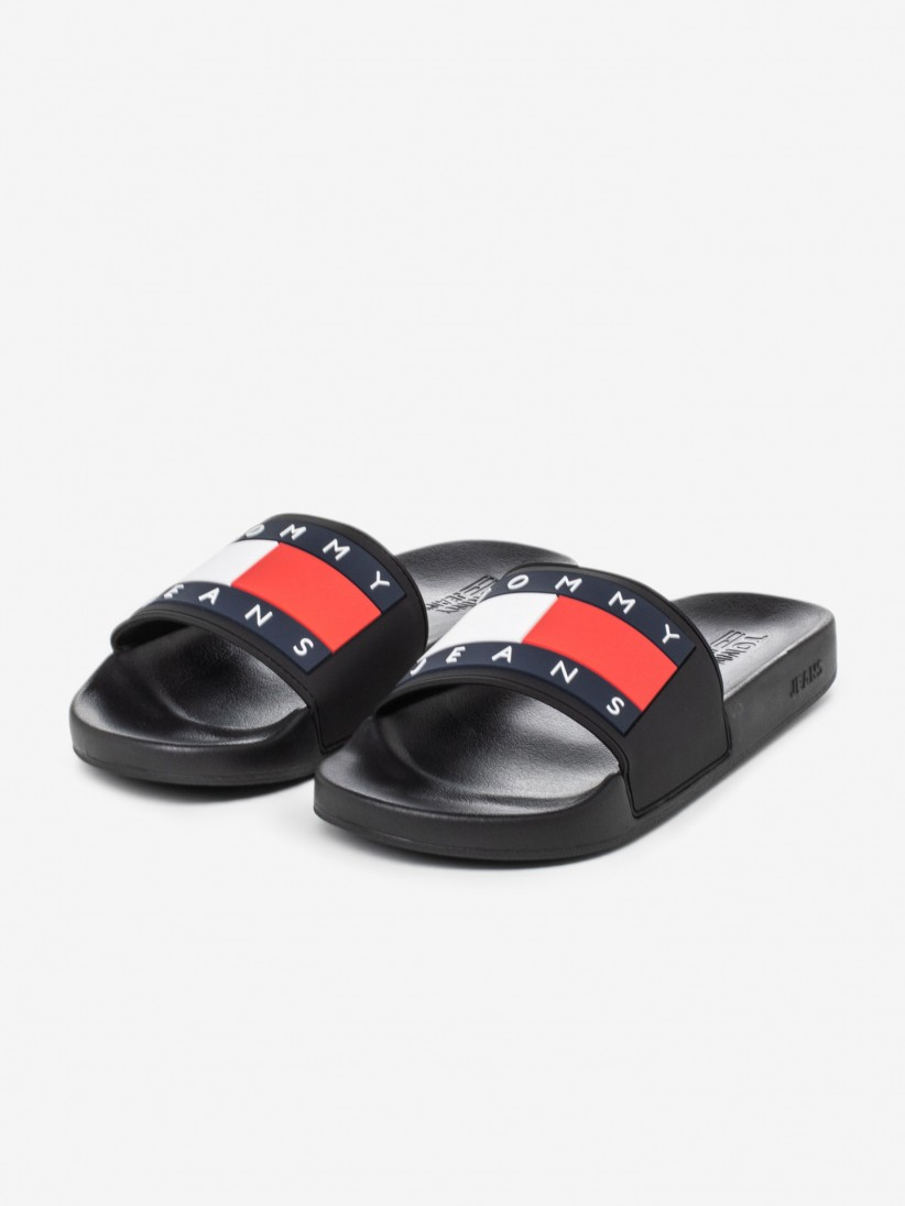 CHINELOS TOMMY HILFIGER JEANS FLAG POOL