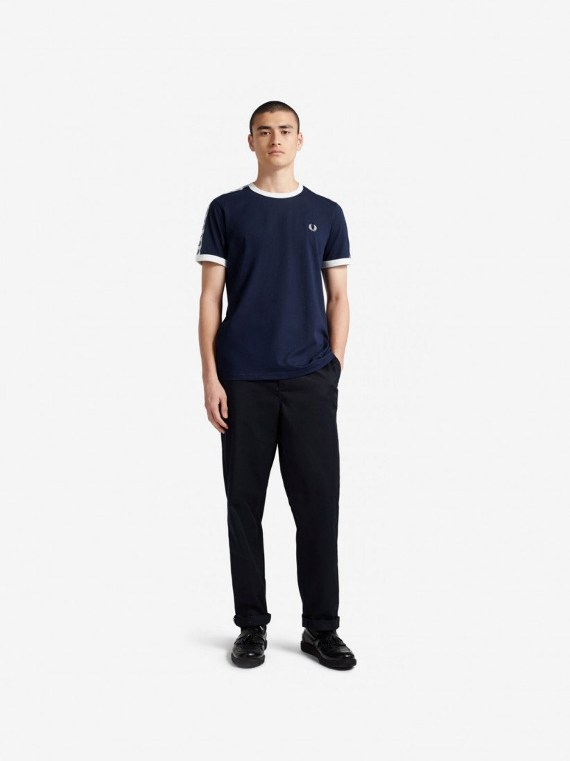 Fred Perry Ringer Taped T-Shirt