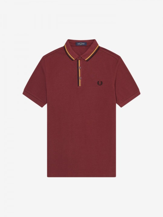 Pólo Fred Perry Tipped Placket