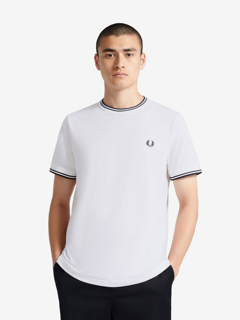T-Shirt Fred Perry Twin Tipped