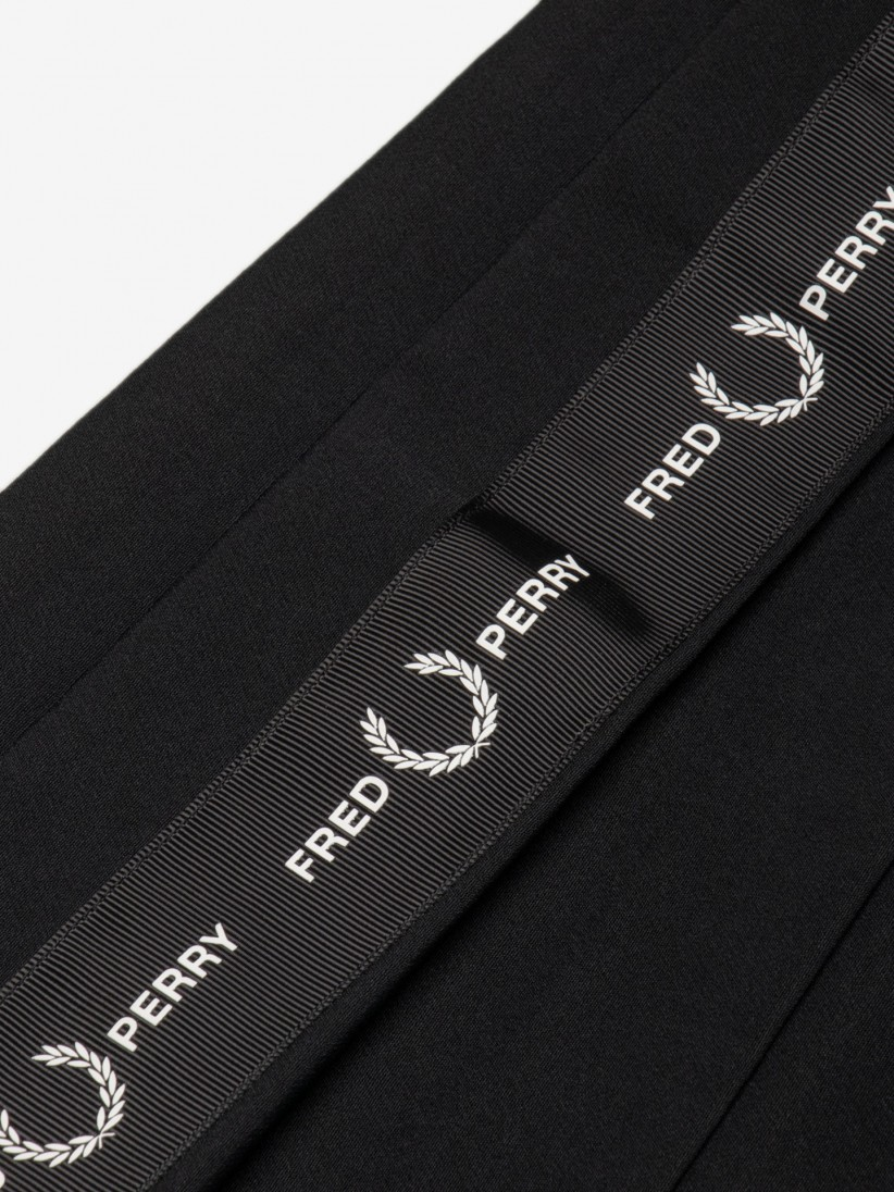 Saia Fred Perry Taped Pleated Tennis